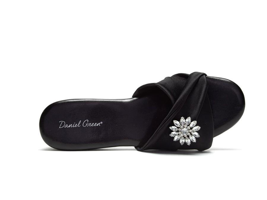 Daniel Green Womens Dormie Twist Slipper