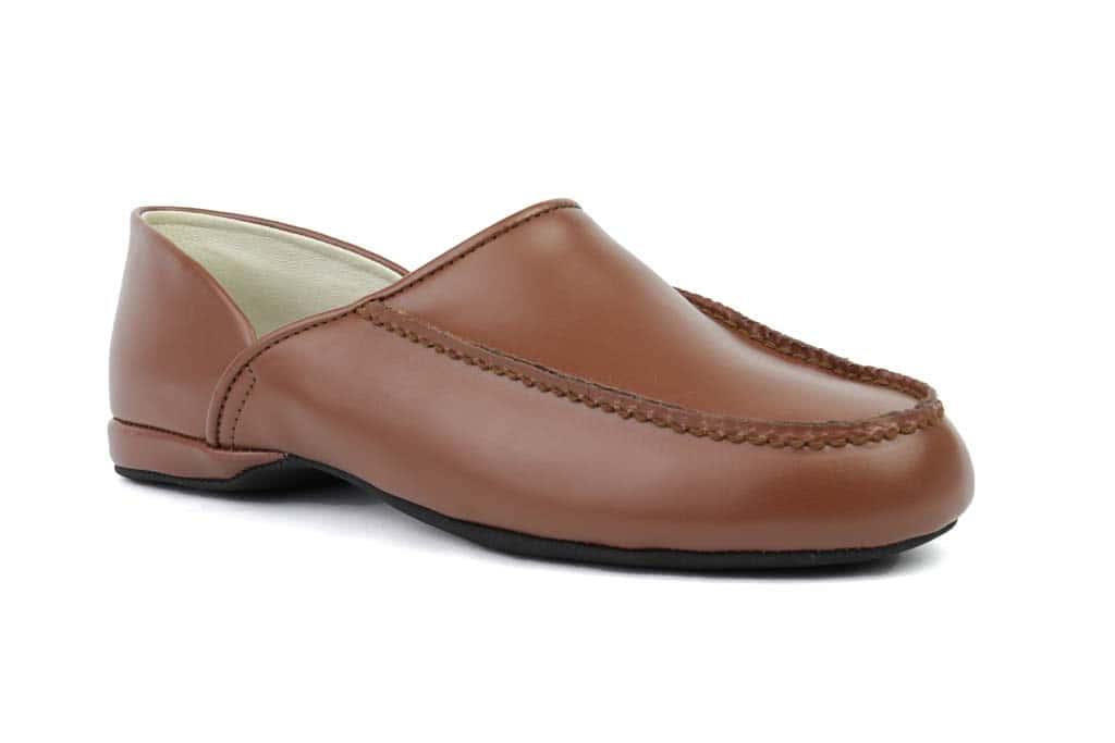 8614e8a4995 L.B. Evans Chicopee Slipper - Men s Leather Slipper